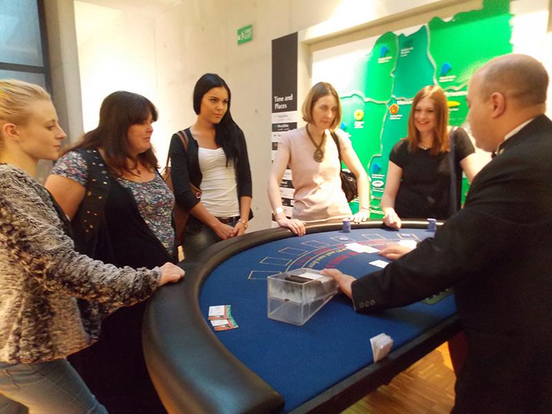 Fun Casino Hire for corportate events in Hampshire