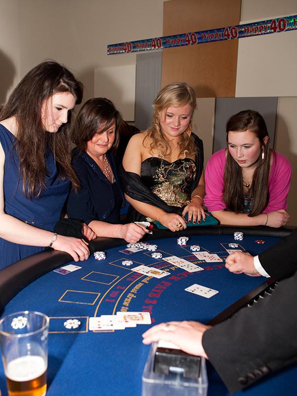 Fun casino hire for parties in Hampshire